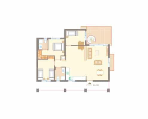 thalassa 3 bed penthouse