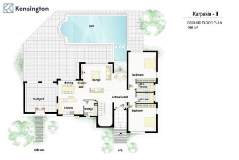 villa almond ground floor